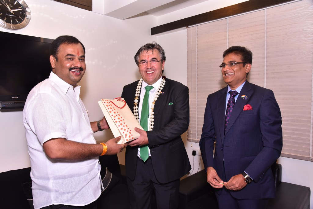 Opening ceremony of honorary consulate Mumbai